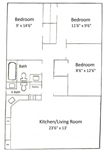 Amazing best 3 bedroom floor plan best home design luxury for 3 bedroom layout design