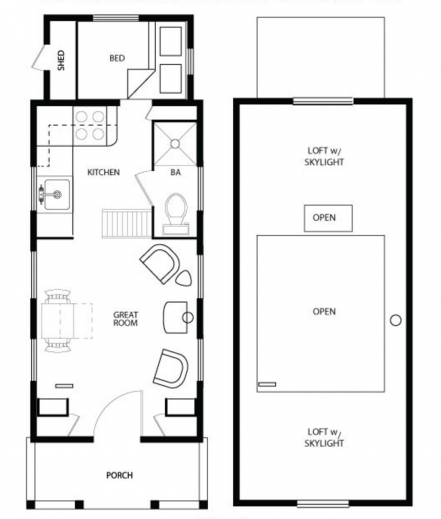 Awesome 1000 Images About Tiny House Floor Plans On Pinterest Tiny Home Tiny House Floor Plans Photo