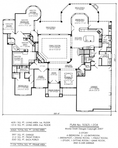 4 garages floor plan house floor plans for Hardwood floor plans
