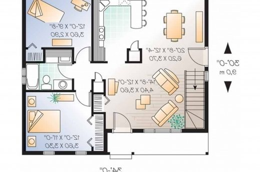 Awesome Mesmerizing Simple House And Bedroom Together With Simple House Simple House Plan With 2 Bedrooms Picture