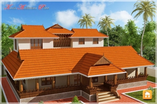 Best Beautiful Traditional Nalukettu Model Kerala House Plan Traditional Kerala House Plan Photo