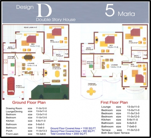 15 by 50 house layout plan
