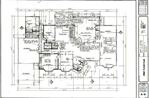 Residential floor plan house floor plans for Residential building plans