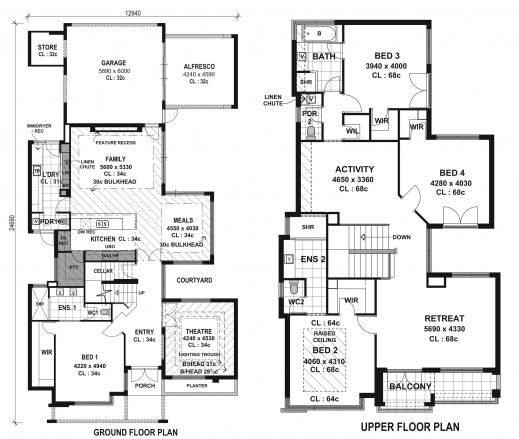 Fantastic 1000 Images About Tiny House Floor Plans On Pinterest Tiny House Residential House Design Plans Images
