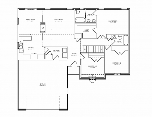 Fantastic 700 Sq Ft House Plans Best House Design Ideas Simple Ranch House Plans 3 Bedroom Pic
