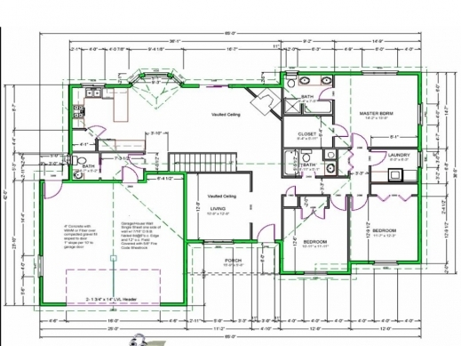 Free house floor plans floor plan design house modern home for Free house layout