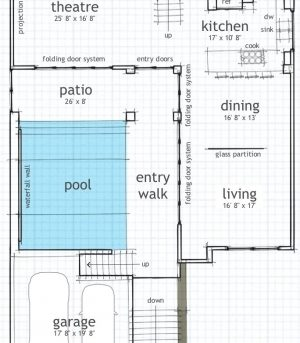 Home plans with indoor swimming pool house floor plans for House plan with swimming pool