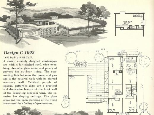 Fantastic Mid Century House Plans Medemco House Plans Mid Century modern Image