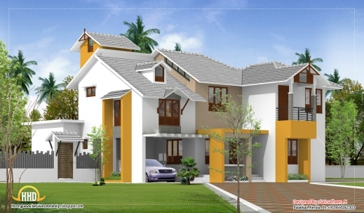 Fantastic Modern Kerala Style House Plans Arts Modern Kerala Style House Plans With Photos Image