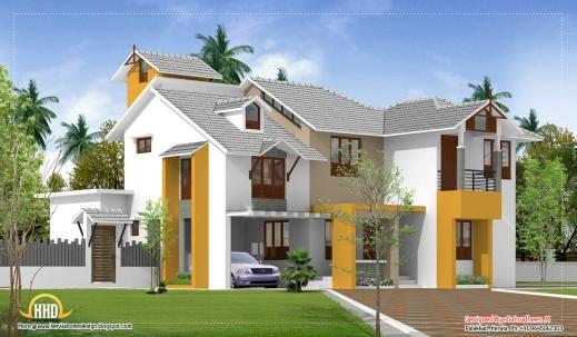Fantastic Modern Kerala Style House Plans Arts Modern Kerala Style House Plans With Photos Image