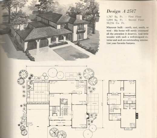 Fantastic Vintage House Plans 1970s Old West Homes Antique Alter Ego Old House Plans Photo
