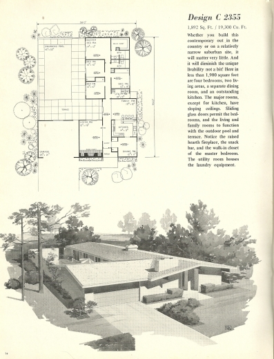 Fascinating 1000 Images About Eichler On Pinterest Vintage House Plans Mid House Plans Mid Century modern Photo