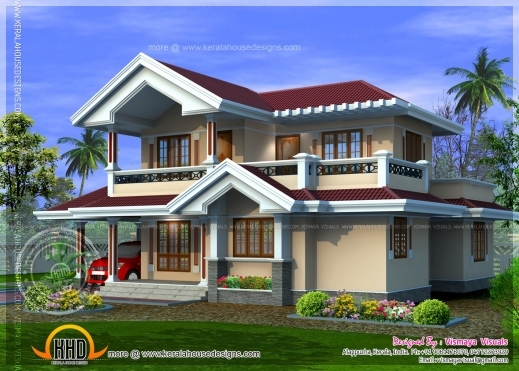 Fascinating January 2014 Kerala Home Design And Floor Plans 700sqft Kerala Traditional House Plan With Staircase Poojamuri Photo
