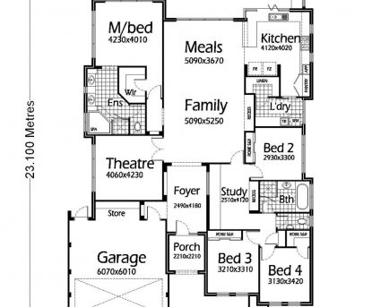 Gorgeous House Plans Single Story 1400 To 1700 5 Bedroom Designs Iranews Architecture House Plans Single Storey Images