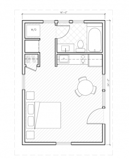 One Room Cabin With Loft Plans House Floor Plans