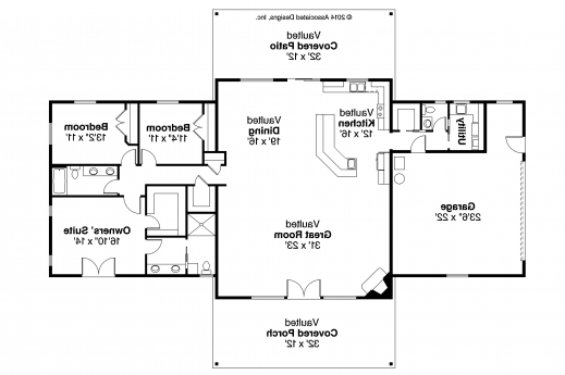 Gorgeous Ranch House Plans Elk Lake 30849 Associated Designs For Ranch Simple Ranch House Plans 3 Bedroom Pictures