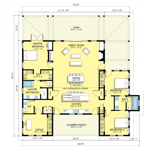 Incredible 1000 Images About I House Plans On Pinterest House Plans Searching For Three Bedroom Plan Picture