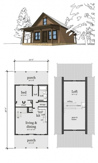 One room cabin with loft plans house floor plans for Single room cabin plans