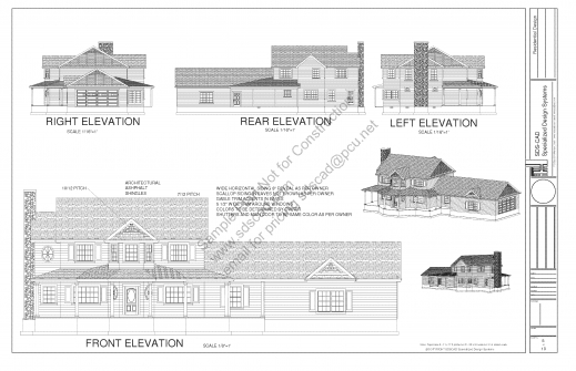 Inspiring Country House Plan Sds Plans Residential Blueprints House Plans Image