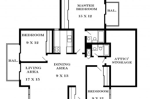 Inspiring Floor Plans Apartment And Apartments Pinterest Three Bedroom Flat 3bedroom Floor Plan In Nigeria Images