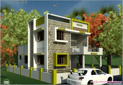 Inspiring Front Elevation Indian House Designs Small