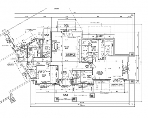 Marvelous 2d Autocad House Plans Residential Building Drawings Cad Services House Plan In Autocad 2d Picture