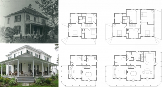 Marvelous Awesome Old Farm House Plans 14 Farmhouse Floor Iranews Old House Plans Pic
