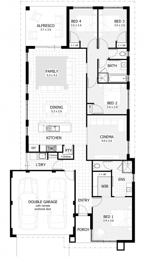 Marvelous House Designs Perth New Single Storey Home Designs 3 Bedroom House Plan Co Au Images