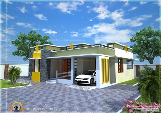 Marvelous January 2014 Kerala Home Design And Floor Plans 700sqft Kerala Traditional House Plan With Staircase Poojamuri Pics