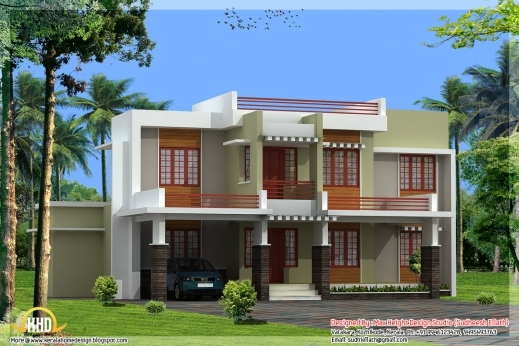 Marvelous June 2012 Kerala Home Design And Floor Plans New Stylish Floor Plan And Elevation Pic