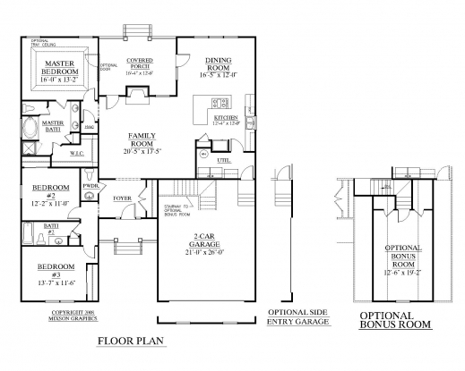 Marvelous Top Residential Blueprints On Single Story House Plans New Home Residential Blueprints House Plans Picture