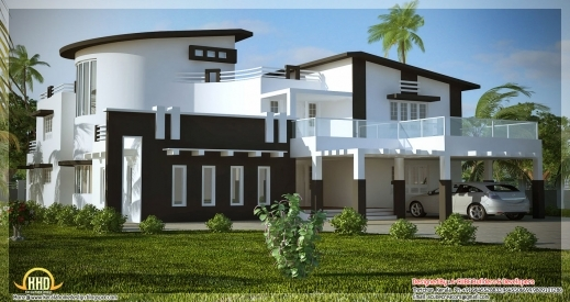 Marvelous Unique Stylish Trendy Indian House Elevation Kerala Home New Stylish Floor Plan And Elevation Pics