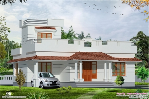 Stylish contemporary house design and floor plans in ghana for Modern house plans in ghana