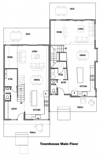 Outstanding Open Concept Kitchen Living Room Floor Plans 2 Bedroom Living Room And A Bedroom Floor Plan Pic