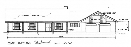Remarkable 2 Story Country House Plans 3 Car Garage Discover Your House Simple Ranch House Plans 3 Bedroom Photo