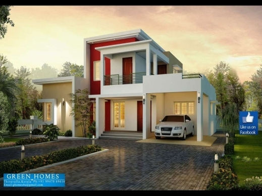 Best Bed 3 Bedroom House Designs In India Modern Three