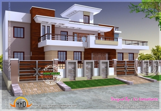 Remarkable Modern Style India House Plan Kerala Home Design And Floor Plans New Stylish Floor Plan And Elevation Images