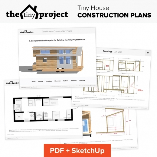 Remarkable Our Tiny House Floor Plans Construction Pdf Sketchup The Tiny House Floor Plans Image