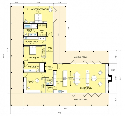 Stunning 1000 Images About L Shaped House Plan Ideas On Pinterest L L Shaped House Plans Pics