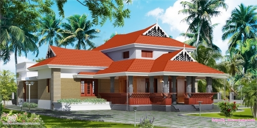 Stunning February 2013 Kerala Home Design And Floor Plans Traditional Kerala House Plan Photos