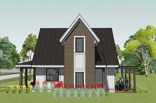 Stunning Scandia Modern Cottage House Plan Small Farmhouse Plans Photo