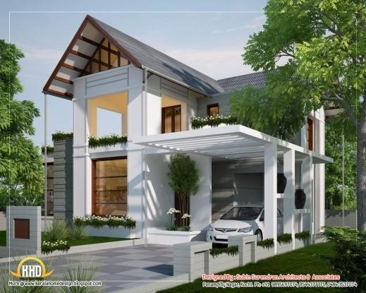 Stylish 1000 Images About House Elevations On Pinterest Kerala Ottawa Modern Kerala Style House Plans With Photos Images