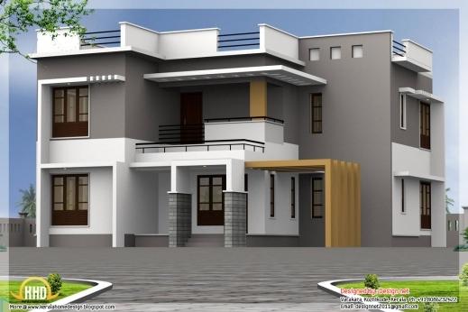 Stylish Contemporary House Design And Floor Plans In Ghana Bedroom Plan Ghana Elevation House Plan Photos