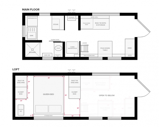 Wonderful 1000 Images About Tiny House Floor Plans On Pinterest Home Tiny House Floor Plans Pic
