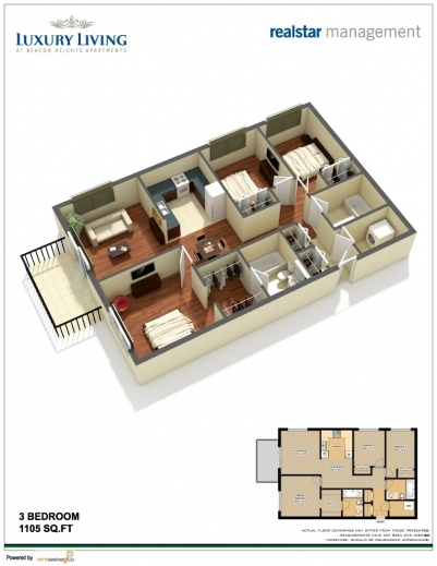 Wonderful 3 Bedroom Flat Design Modern Shape House And Floor Plan Layout 3bedroom Floor Plan In Nigeria Images
