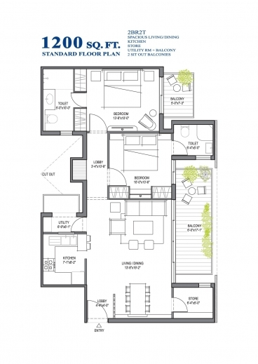 Wonderful Building Plans 1200 Sq Ft Madison Iii Queen Anne Floor Plan 1200 Sq Ft Single Floor House Plans Pics