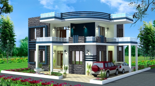 Wonderful house design indian style house plans 2017 Small house indian style