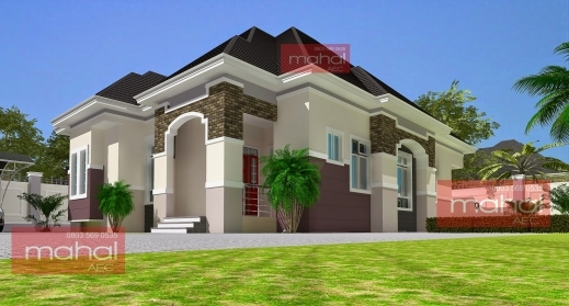 Amazing Contemporary Nigerian Residential Architecture Nigeria Floor House Plan Photos