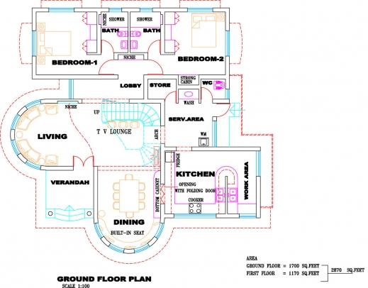 Amazing Kerala Villa Plan And Elevation Kerala Home Design And Floor Plans Kerala Villa Floor Plans Image