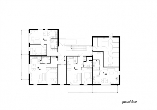 Amazing residential floor plans with dimensions simple for Amazing floor plan